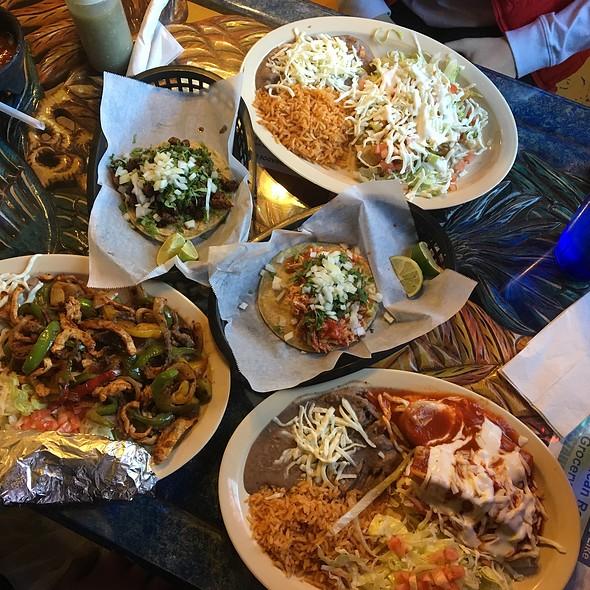Various Tacos And Flautas