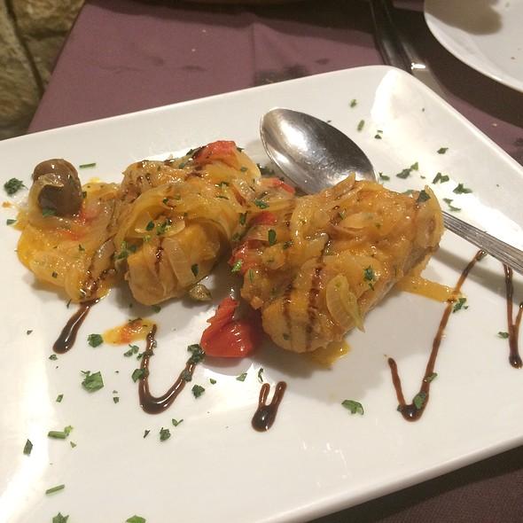 Tuna With Onions And Tomatoes @ Apollonion - Osteria Da Carlo