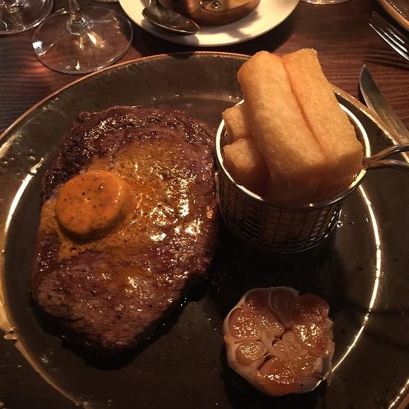 Ribeye Steak @ 1884 Dock Street Kitchen