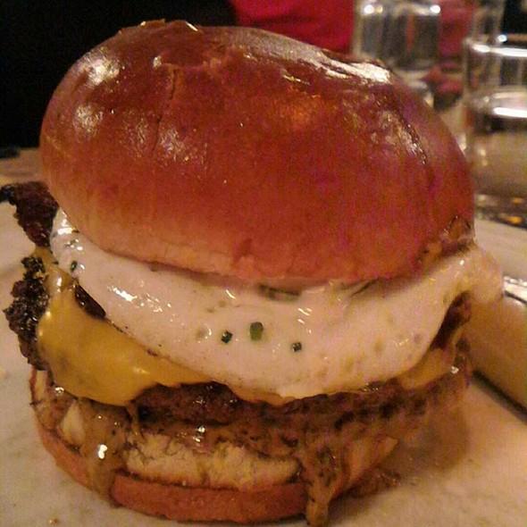 Bacon Egg Cheeseburger @ Au Cheval
