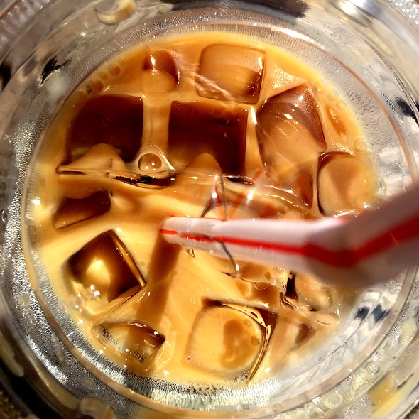 Iced Latte @ Key & Cup