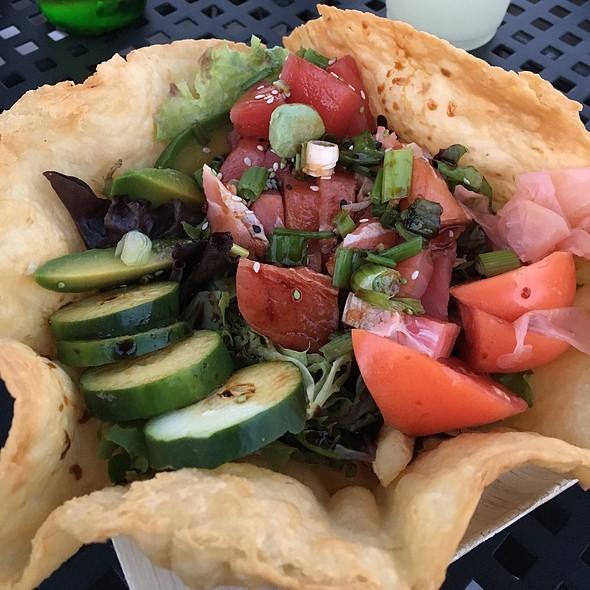 Hawaiian Island Ahi Poke @ Bayside Clam Bar And Grill