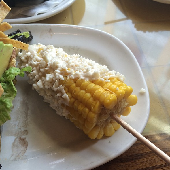 Street Corn On The Cob