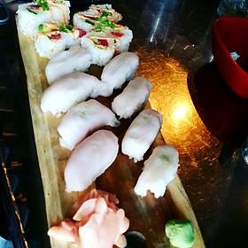 White Tuna Nigiri Sushi