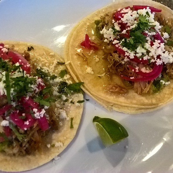 carnitas tacos @ Tired Hands Fermentaria