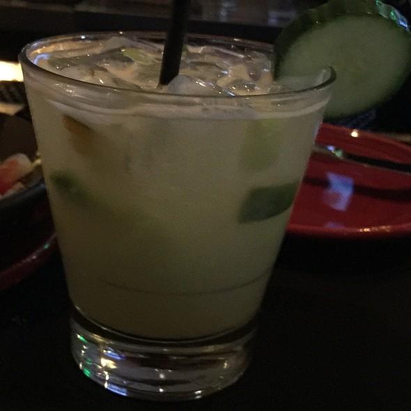 Cucumber Jalapeno Margarita - Sol Cocina, Newport Beach, CA