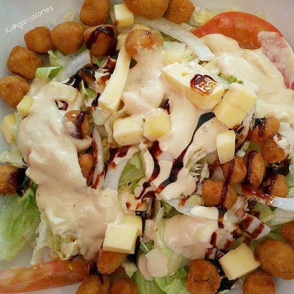 Crispy Chicken Salad @ Restaurante los Muleros