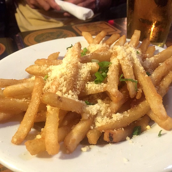 Truffle Parmesan Fries @ Coasters Pub