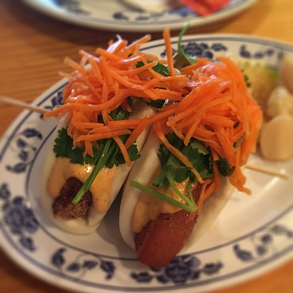 Pork Belly Buns @ reds chinese