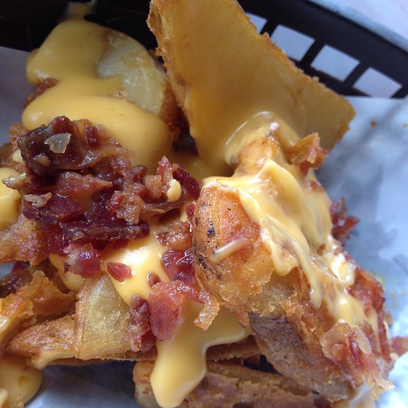 Potato Wedges With Bacon And Cheese @ Carlo's Pizza