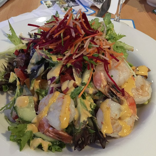 Morroccan Salad With Pumpkin And Prawns @ Geebung-Zillmere RSL Club