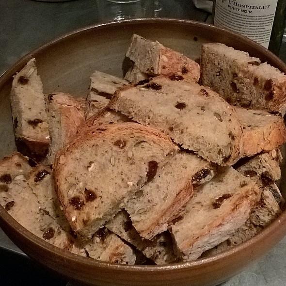 raisin bread @ Printworks Kitchen