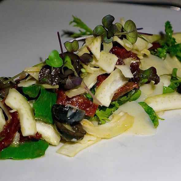 Artichoke salad, sundried tomatoes, olives, parmesan cheese @ La Casa Del Lago- Rosewood Mayakoba