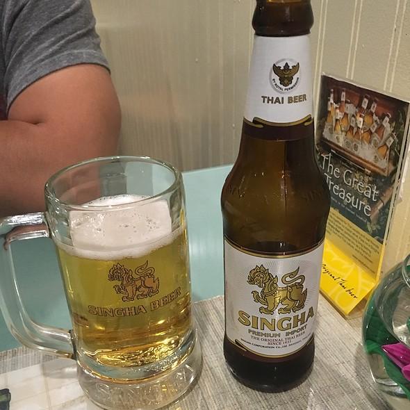 Singha Beer @ Srida Thai Cuisine