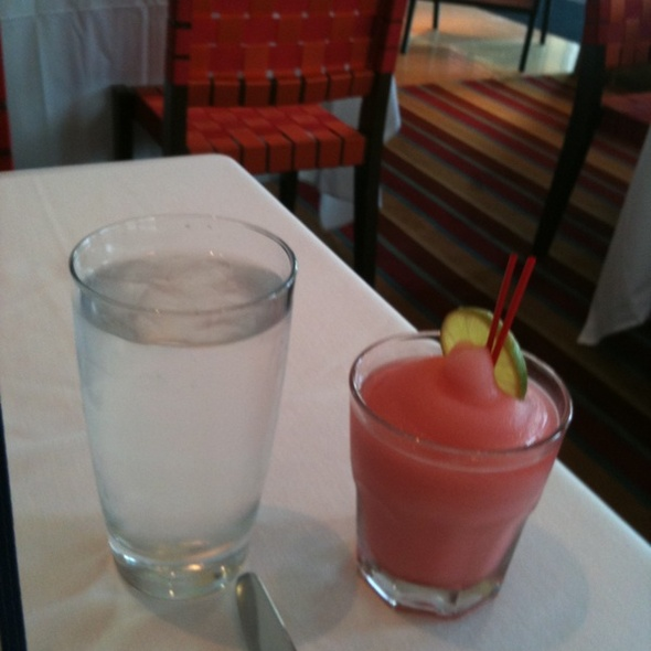 Frozen Pomegranate Margarita @ Rosa Mexicano Restaurant