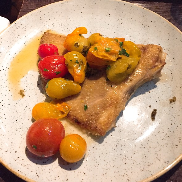 Skate Wing With Heritage Tomatoes