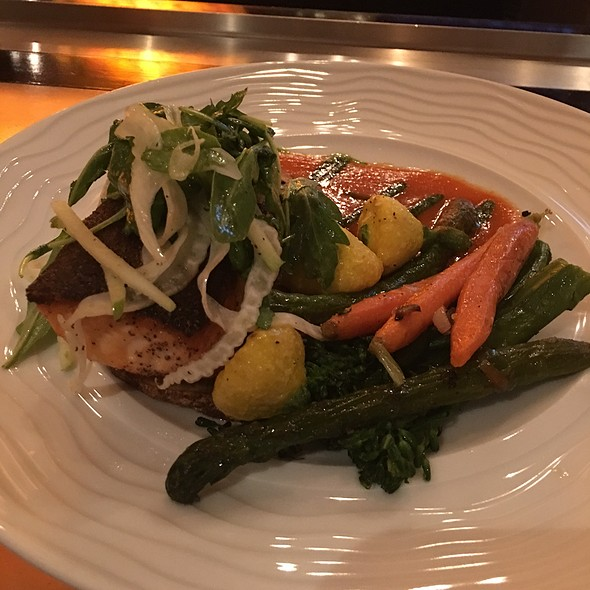 Grilled Salmon @ Hilton Checkers Los Angeles