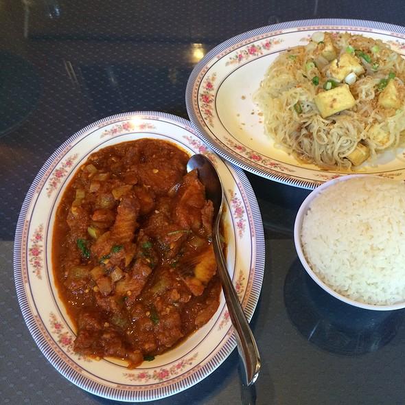 Fried Tilapia With Tamarind Sauce @ Mandalay Restaurant