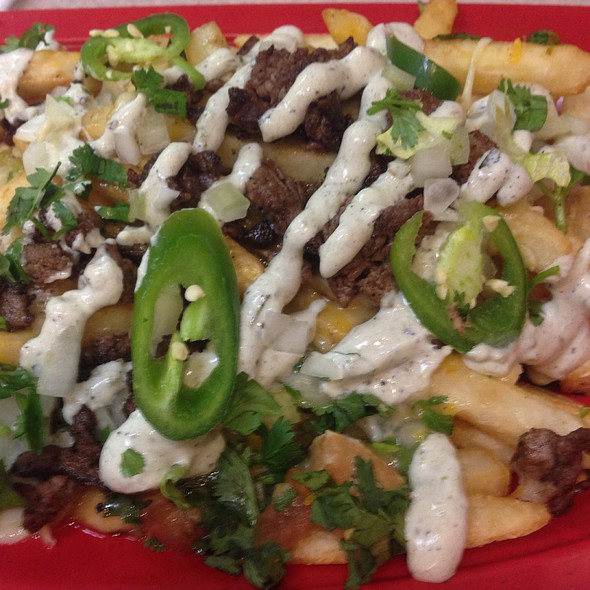 Carne Asada Fries @ Garabaldi Mexican Bistro