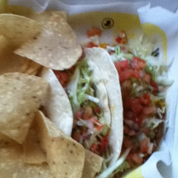 fish tacos @ Buffalo Wild Wings