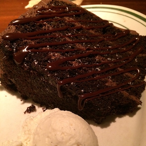Chocolate Cake - L. Woods Tap and Pine Lodge, Lincolnwood, IL