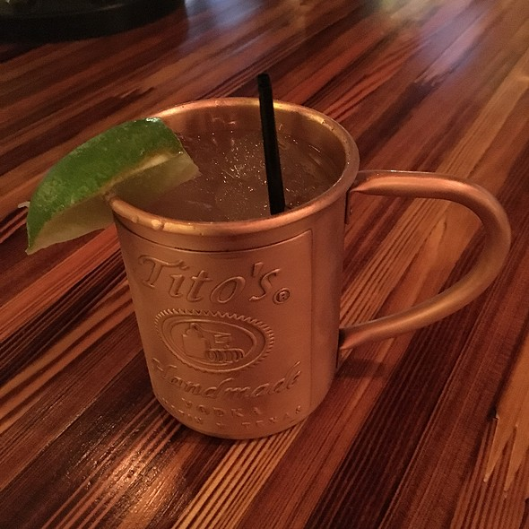 Tito's Moscow Mule