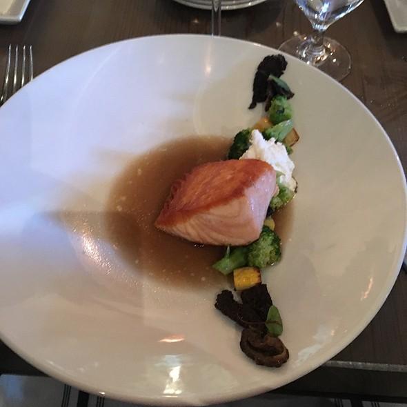 Salmon And Squash Medley