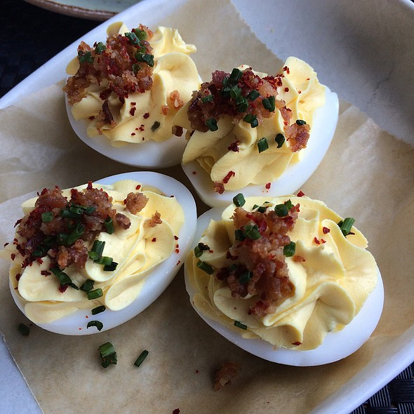 Deviled Eggs @ Family Meal
