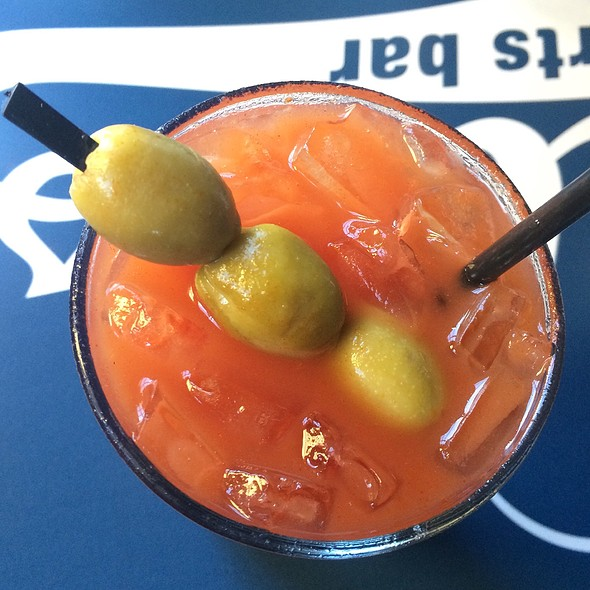Bloody Mary - Nellie's Sports Bar, Washington, DC