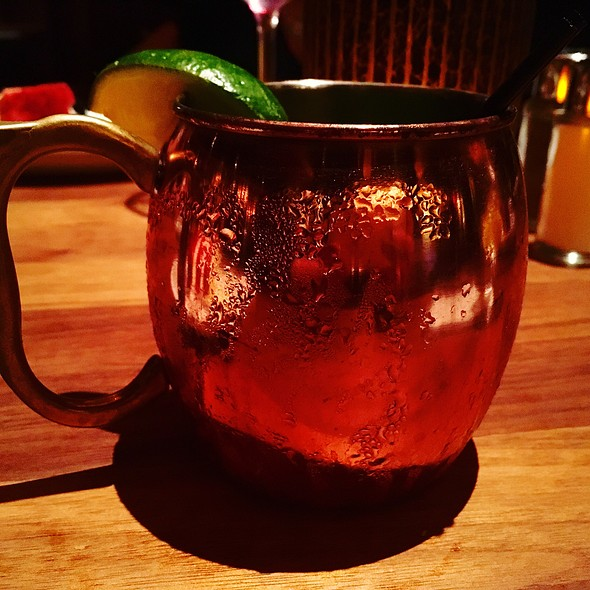 Watermelon Mint Mule @ The Ranch Restaurant & Saloon
