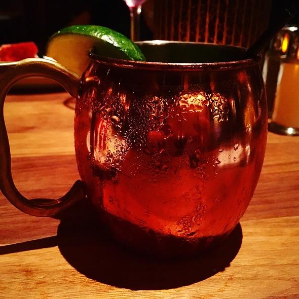 Watermelon Mint Mule @ The Ranch Restaurant & Saloon