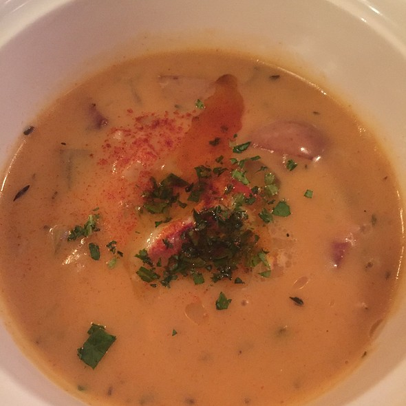 Clam Chowder With Lobster - Grill 23 & Bar, Boston, MA
