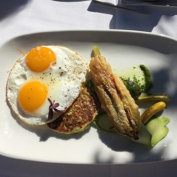 Summer Squash & Pesto @ Farmhouse Inn and Restaurant