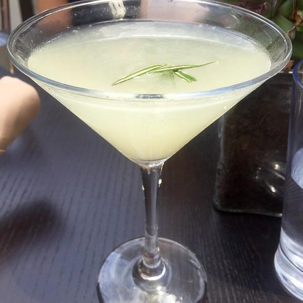 Hangar One Vodka, Lemon, And Rosemary Cocktail