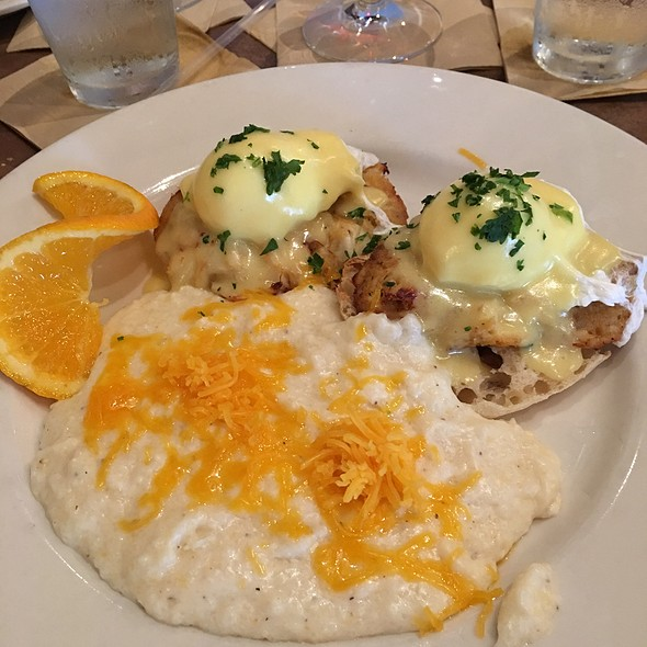 Crabcake Benedict  @ The Brick