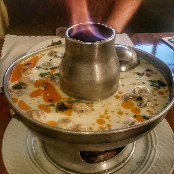 Tom Kha Khai Soup @ Lotus of Siam