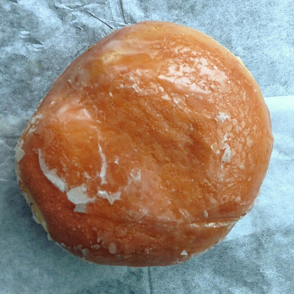 Lemon Filled Donut @ Daddy's Donuts