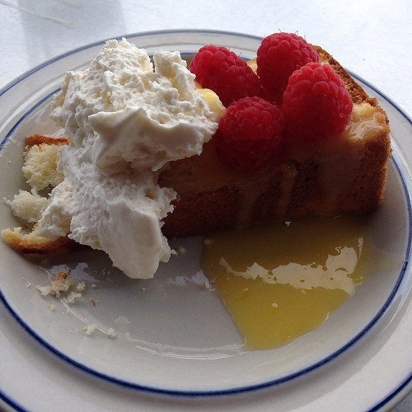 angel food cake - Robert's Maine Grill, Kittery, ME