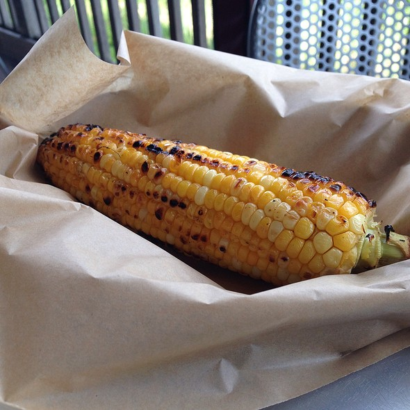 Cilantro And Lime Corn On The Cobb - Robert's Maine Grill, Kittery, ME