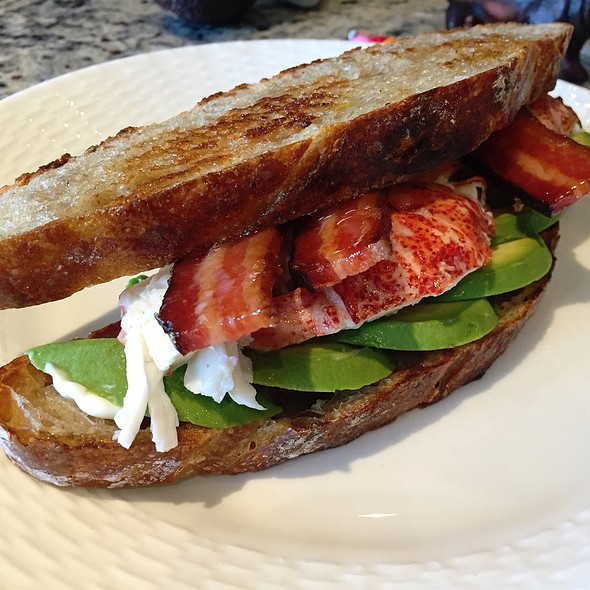 Lobster, Bacon, Avocado Sandwich