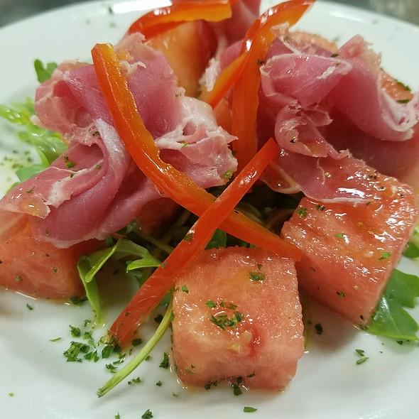 Prosciutto-Melon + Salad - Barclay's American Grille, Oak Park, IL