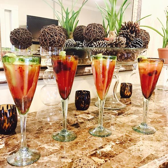 Champagne Margarita @ Chez Moi Moi Moi!