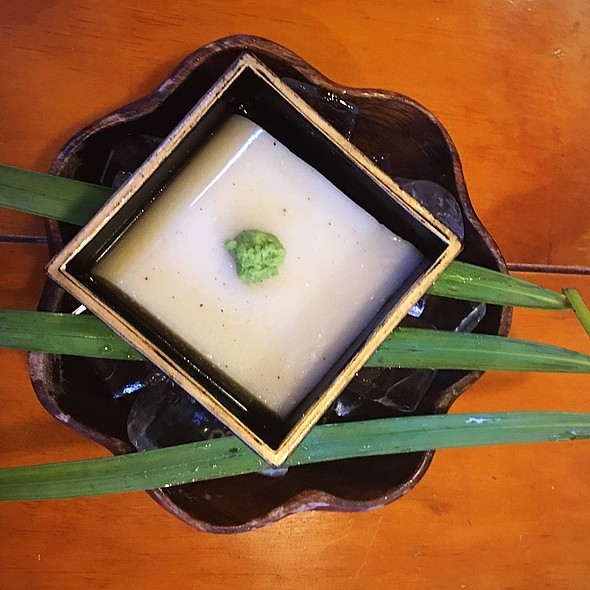Macadamia Nut Tofu @ Sakura Terrace Japanese Cafe