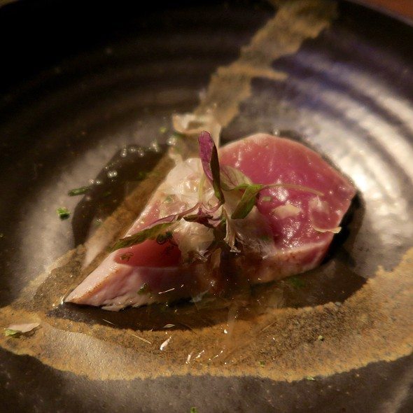 Bluefin Toro with Wasabi Oil and Green Onion