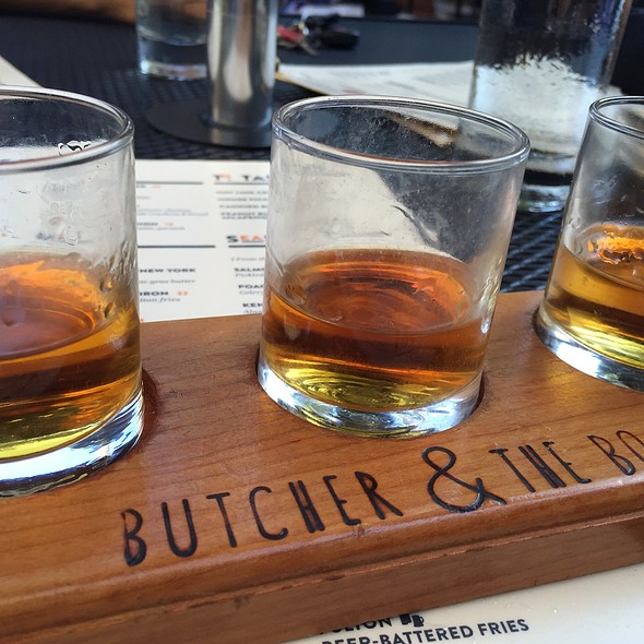 Bourbon Flight - Butcher & the Boar, Minneapolis, MN