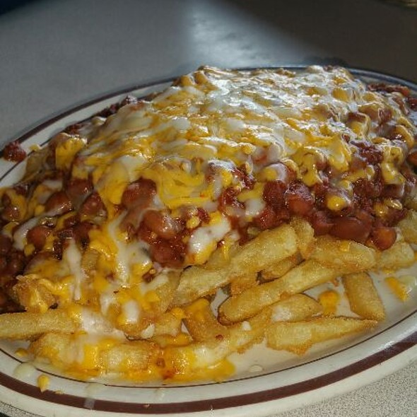 Chili Cheese Fries @ Crown Railroad Cafe