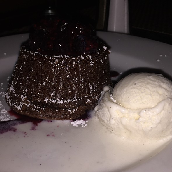 Warm Chocolate Cake - Glass House Tavern, New York, NY