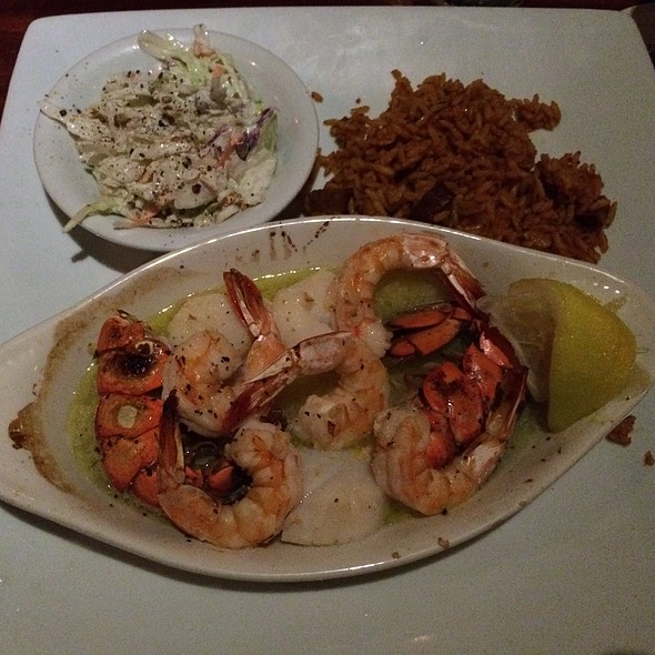 Broiled Seafood Combo @ Boathouse at Breach Inlet