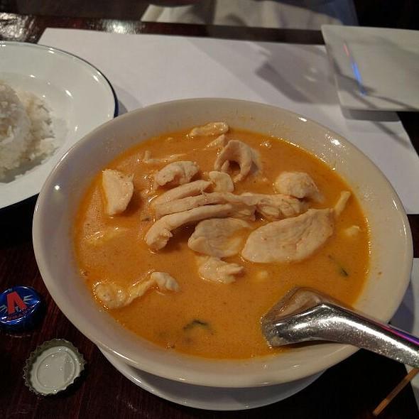 panang curry @ Sweet Rice