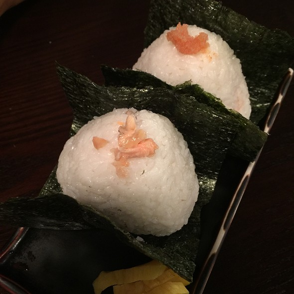 rice balls @ 炭焼 宮崎地鶏 ICCHO
